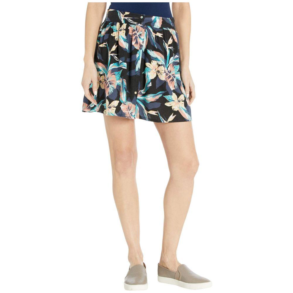 ロキシー Roxy レディース スカート 【Shallow End Buttoned Skirt】Anthracite Tropicoco