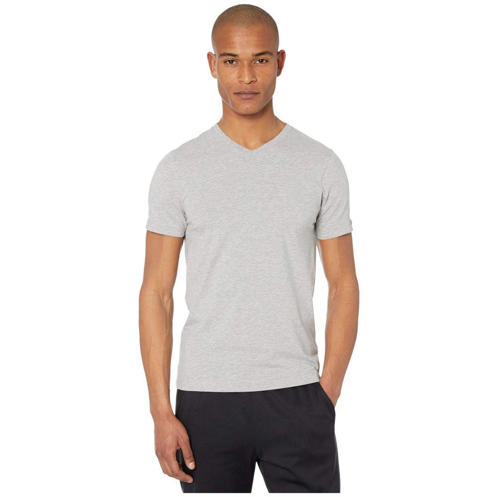 ローヌ メンズ トップス Tシャツ Heather Gray V-Neck 70%OFFアウトレット Rhone Vネック Tee サイズ交換無料 本物 Element