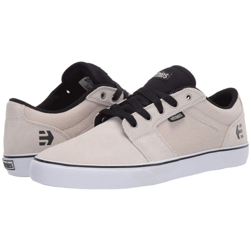 エトニーズ etnies メンズ シューズ・靴 【Barge LS】White/Black/Silver