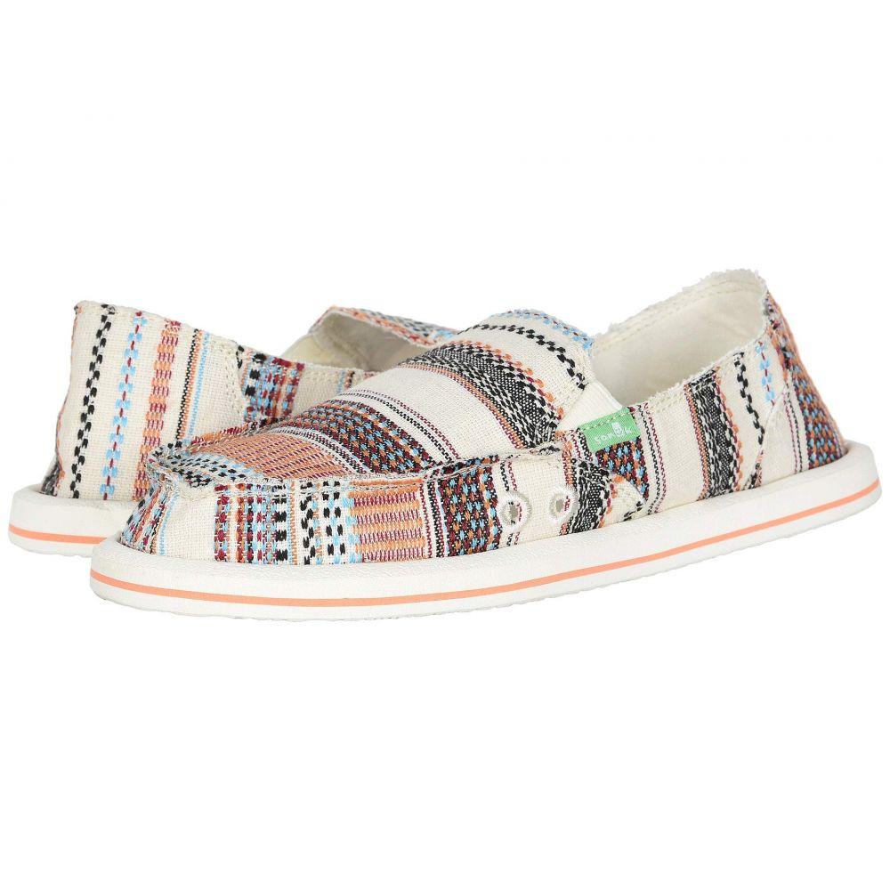 サヌーク Sanuk レディース ローファー・オックスフォード シューズ・靴【Donna Tribal】Natural Multi