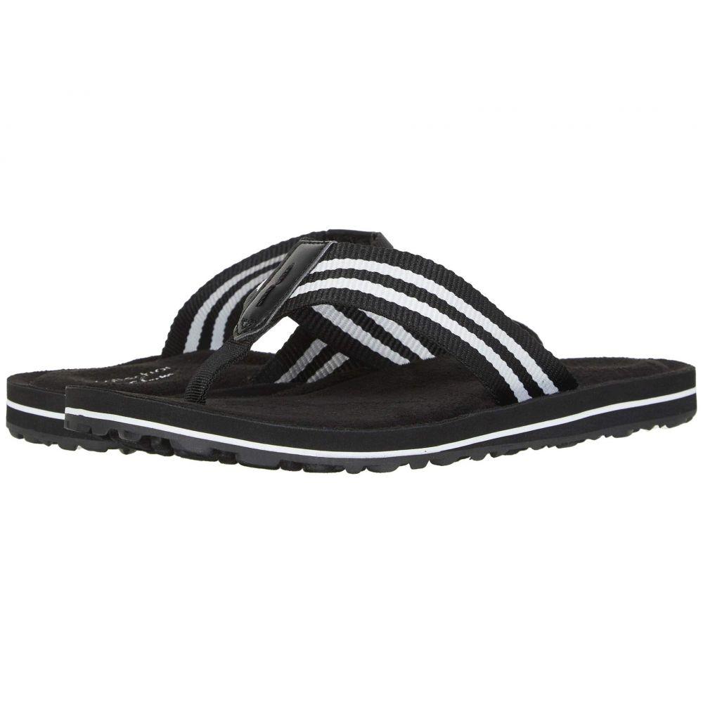 クラークス Clarks レディース ビーチサンダル シューズ・靴【Fenner Sunset】Black Textile