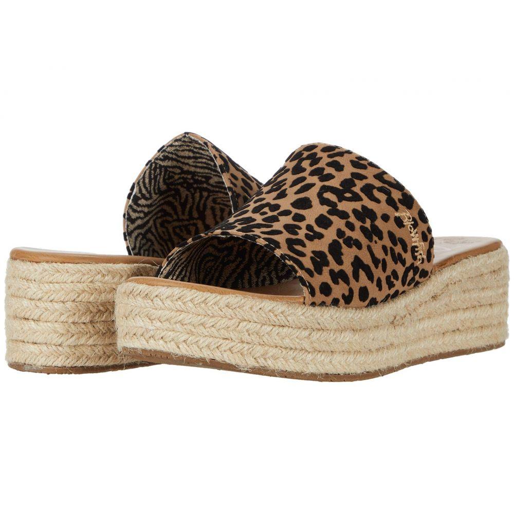 ブローフィッシュ Blowfish レディース サンダル・ミュール シューズ・靴【Leigh】Sahara Leopard Grasslands