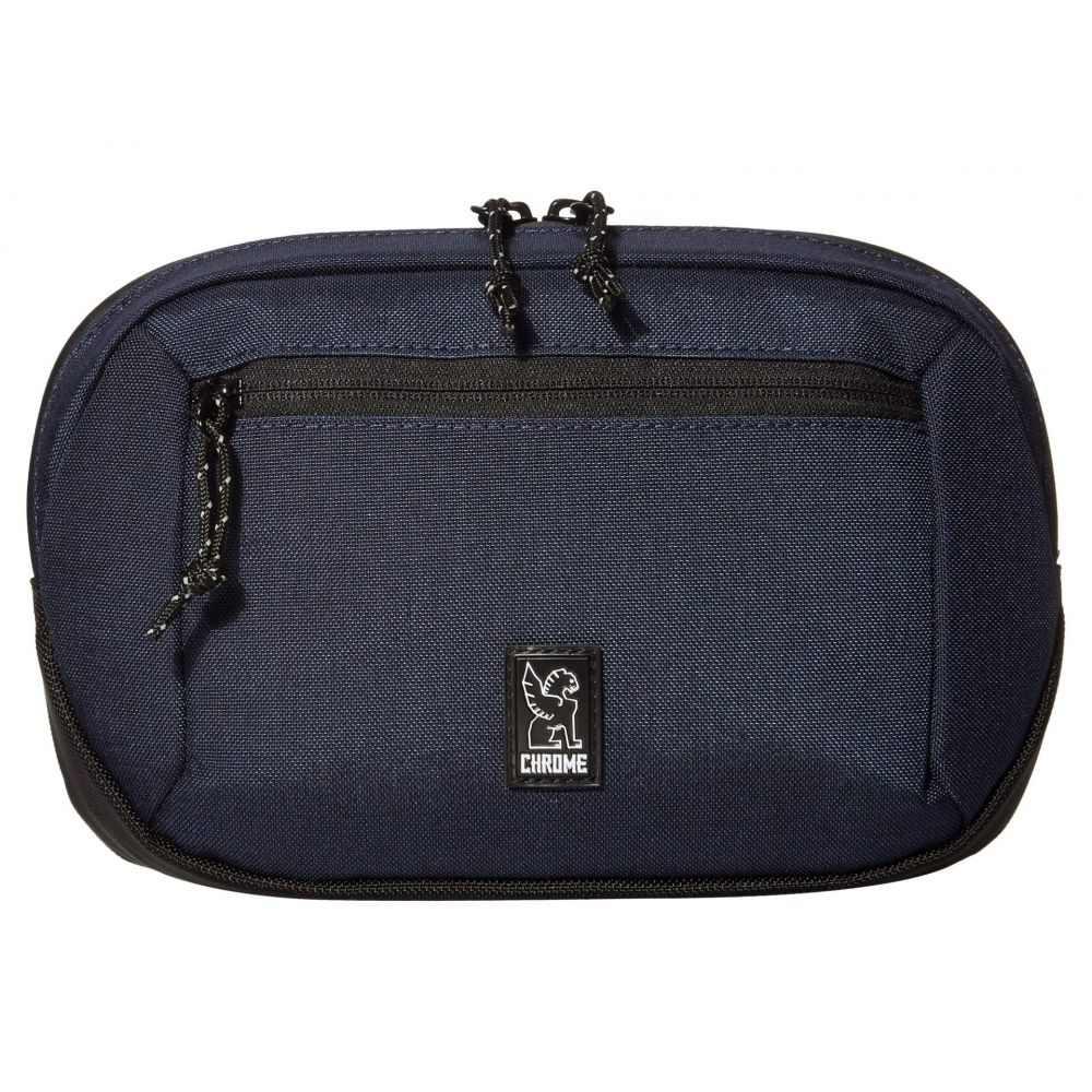 クローム インダストリーズ Chrome レディース ボディバッグ・ウエストポーチ ウエストバッグ バッグ【Zip Top Waistpack】Navy Blue