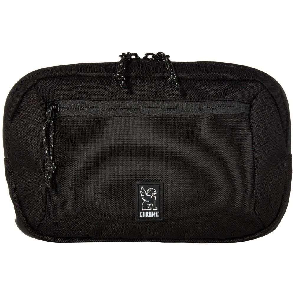 クローム インダストリーズ Chrome レディース ボディバッグ・ウエストポーチ ウエストバッグ バッグ【Zip Top Waistpack】Black
