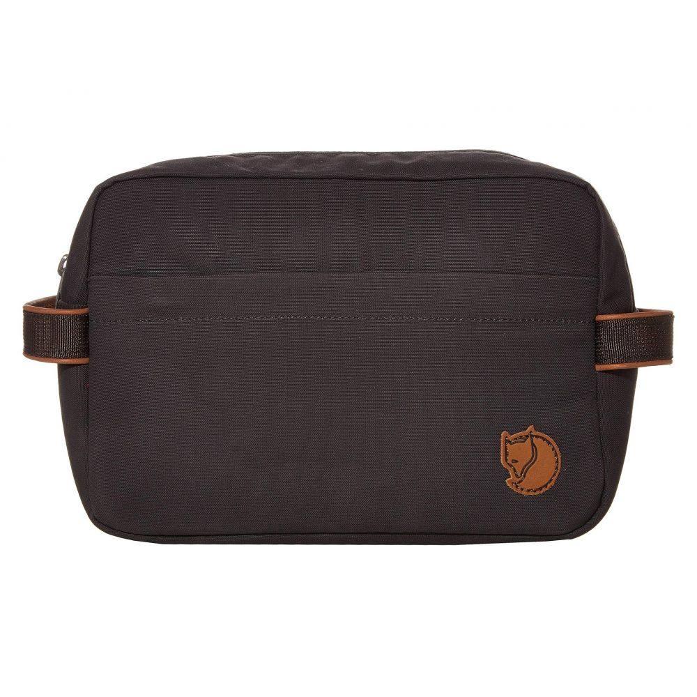 フェールラーベン Fjallraven レディース ポーチ トイレタリーバッグ【Travel Toiletry Bag】Dark Grey