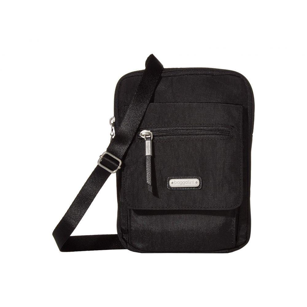 バッガリーニ Baggallini レディース ショルダーバッグ バッグ【New Classic Far and Wide RFID Crossbody Bag】Black