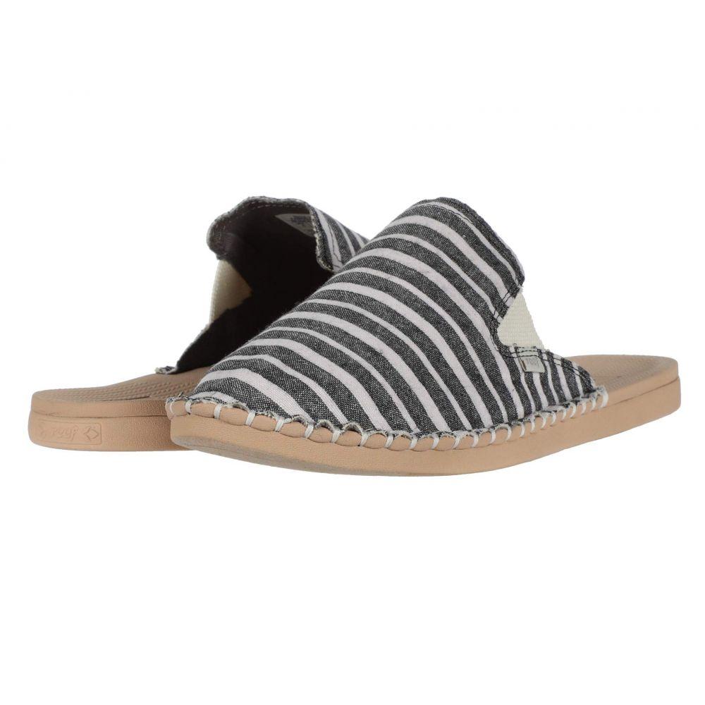 リーフ Reef レディース サンダル・ミュール シューズ・靴【Escape Mule TX】Black/Stripes