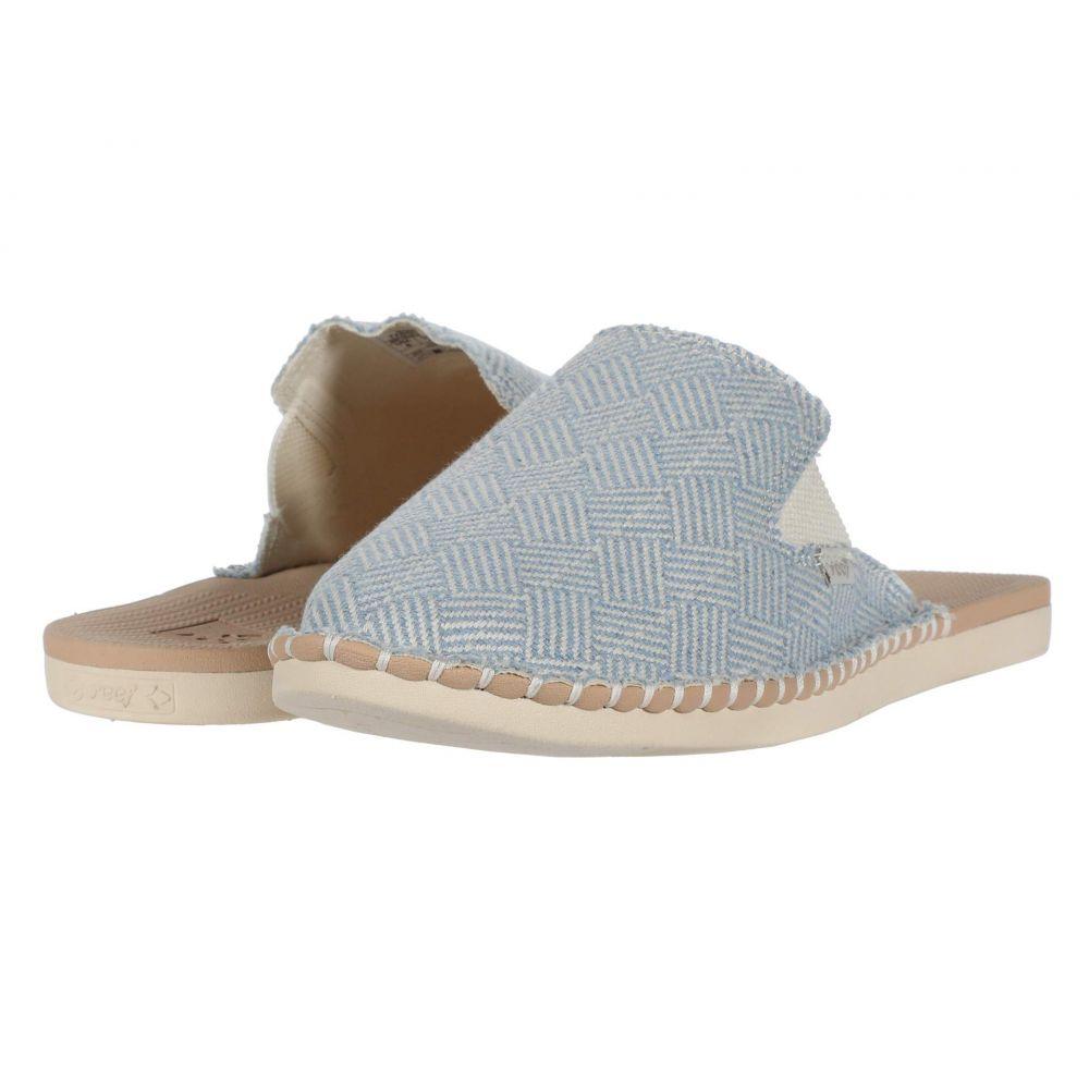 リーフ Reef レディース サンダル・ミュール シューズ・靴【Escape Mule TX】Light Blue/White