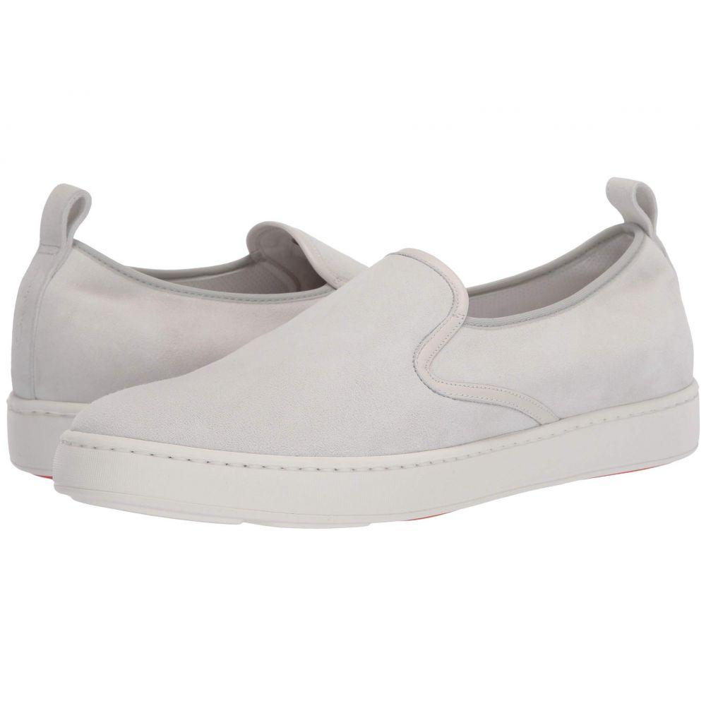 サントーニ Santoni メンズ スニーカー シューズ・靴【Panel Sneaker】White