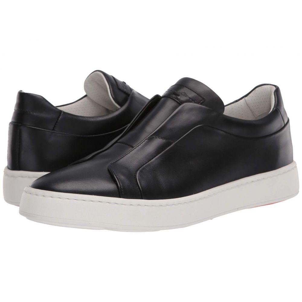 サントーニ Santoni メンズ スニーカー シューズ・靴【Pass Sneaker】Black