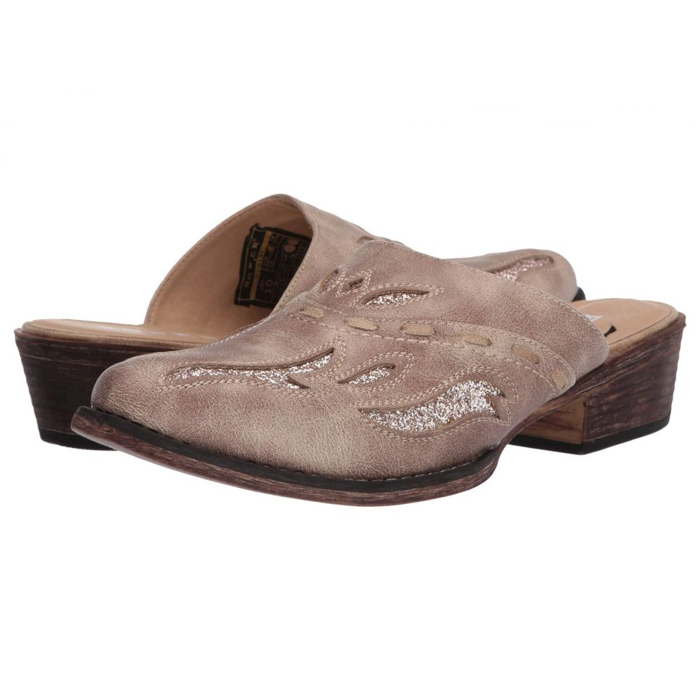 ローパー Roper レディース シューズ・靴 【Beth Snip Toe】Tan Faux Leather