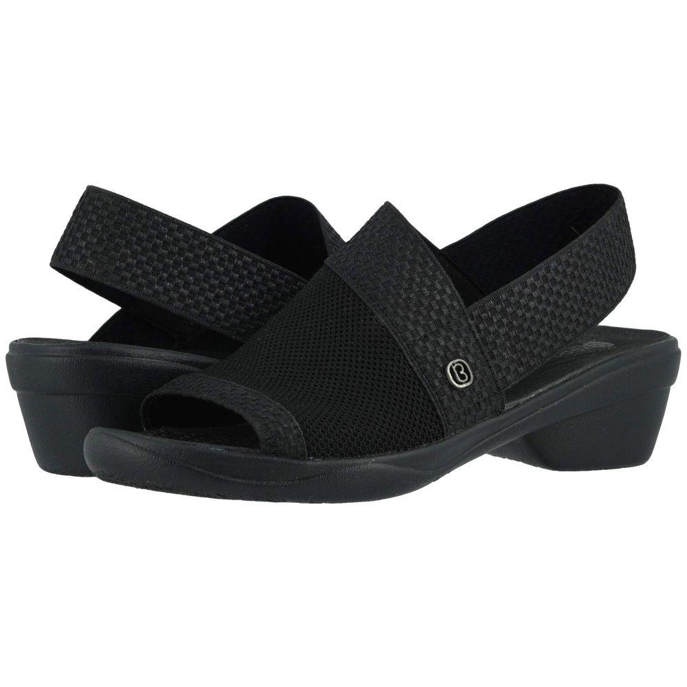 ゼィース Bzees レディース サンダル・ミュール シューズ・靴【Molly】Black Knit