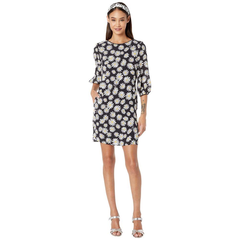 モスキーノ Boutique Moschino レディース ワンピース ワンピース・ドレス【All Over Daisy Dress】Black Multi