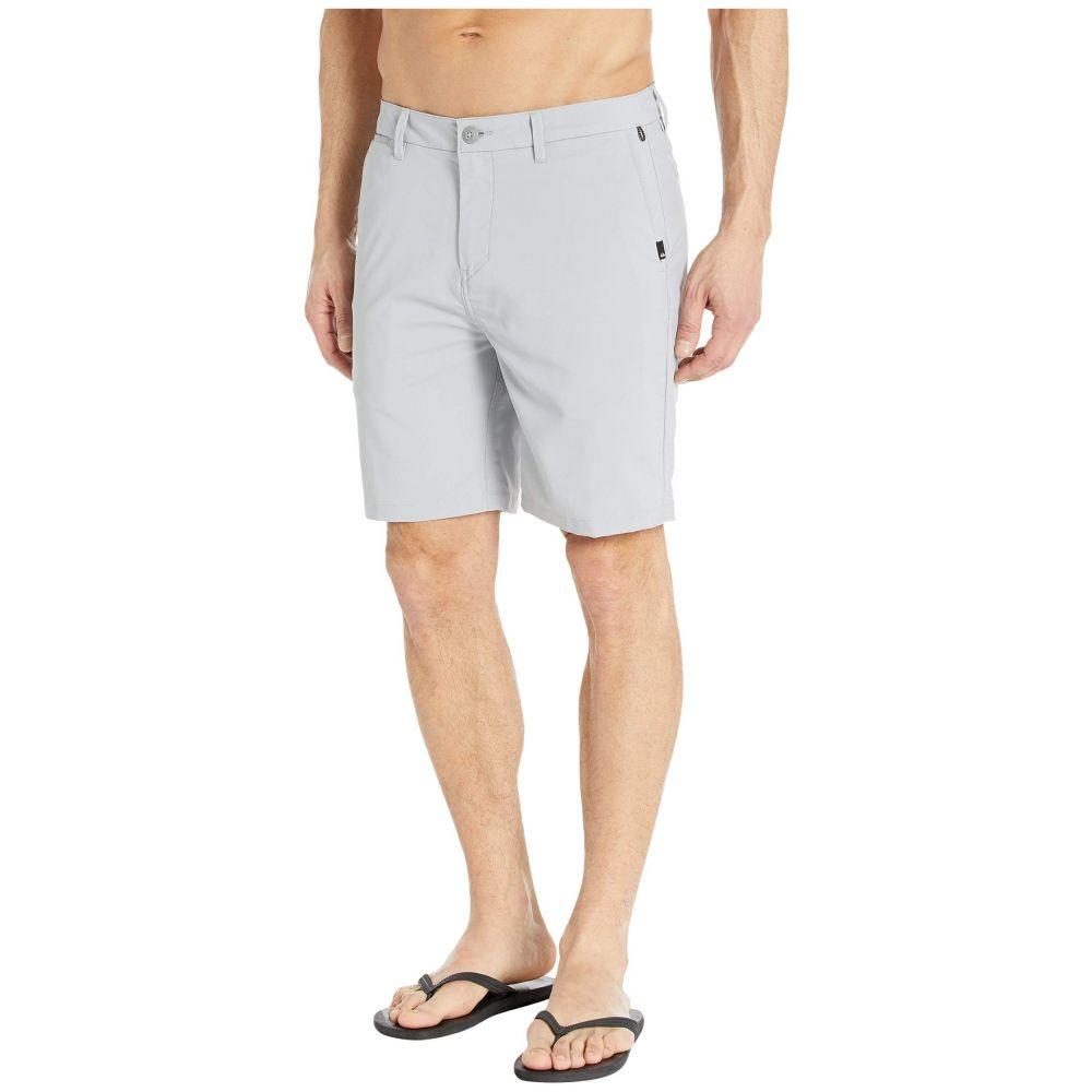 クイックシルバー Quiksilver メンズ ショートパンツ ボトムス・パンツ【Union Dry Twill Amphibian 19' Shorts】Sleet