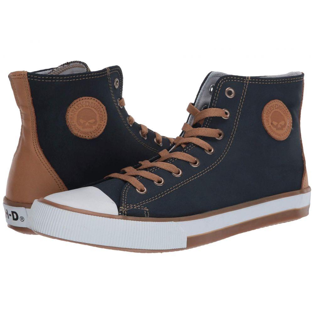 ハーレーダビッドソン Harley-Davidson メンズ スニーカー シューズ・靴【Filkens】Blue
