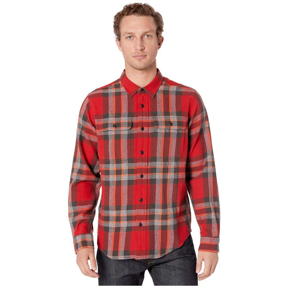 フィルソン Filson メンズ シャツ トップス【Scout Shirt】Red/Black/Flame Plaid