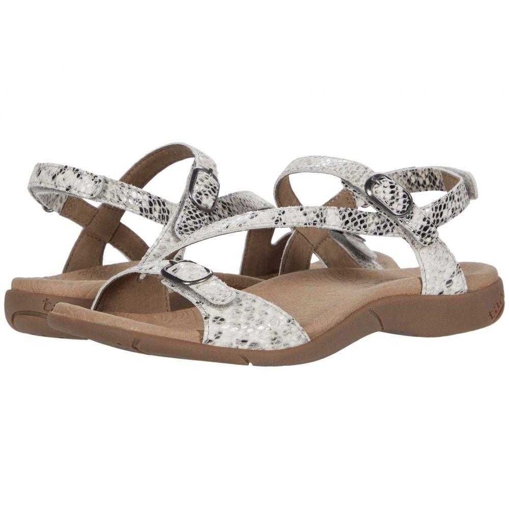 タオス Taos Footwear レディース サンダル・ミュール シューズ・靴【Beauty 2】White Snake