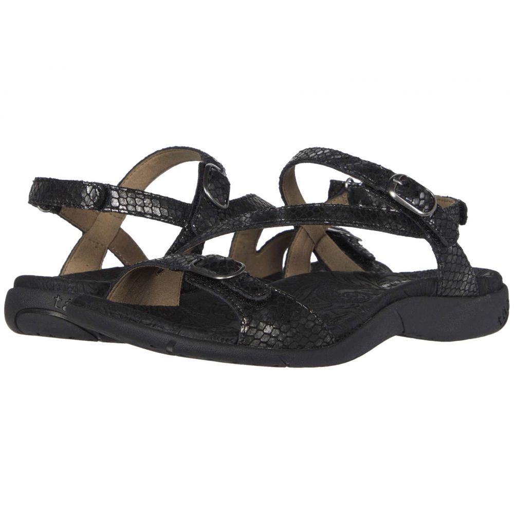 タオス Taos Footwear レディース サンダル・ミュール シューズ・靴【Beauty 2】Black Snake