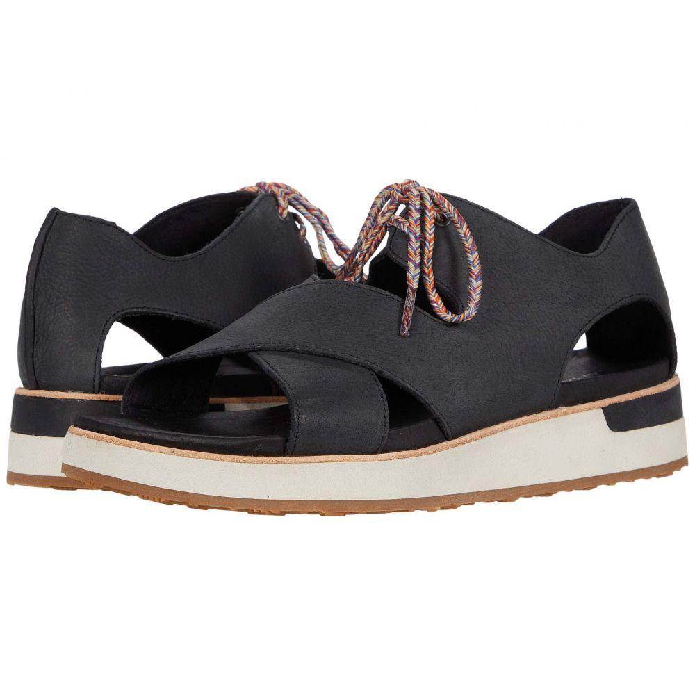 メレル Merrell レディース サンダル・ミュール シューズ・靴【Roam Cross Lace】Black