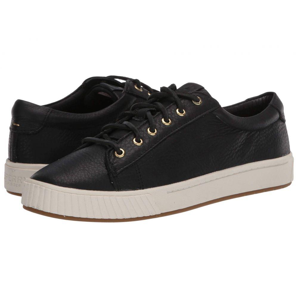 スペリー Sperry レディース スニーカー シューズ・靴【Anchor PlushWave LTT Leather】Black
