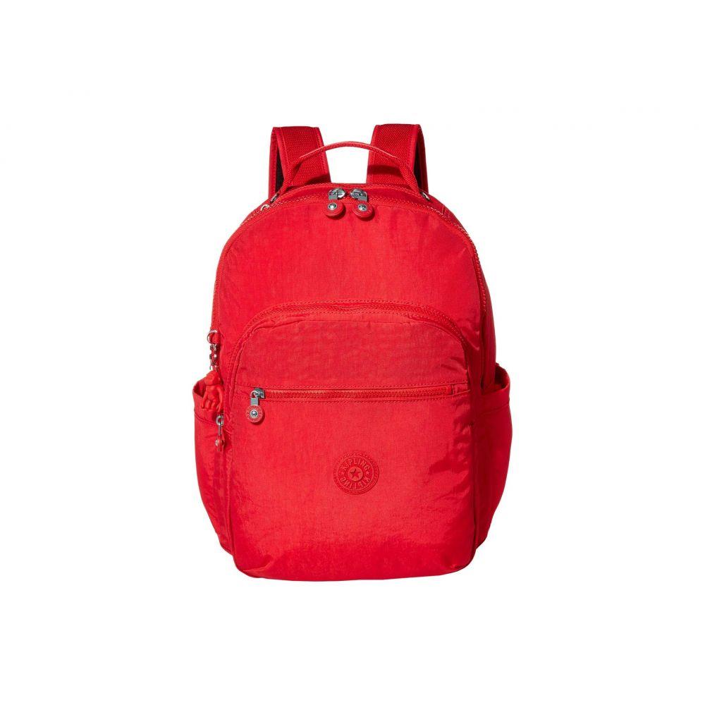 <title>キプリング レディース バッグ パソコンバッグ Red Rouge サイズ交換無料 Kipling バックパック Seoul Laptop Backpack 超歓迎された</title>