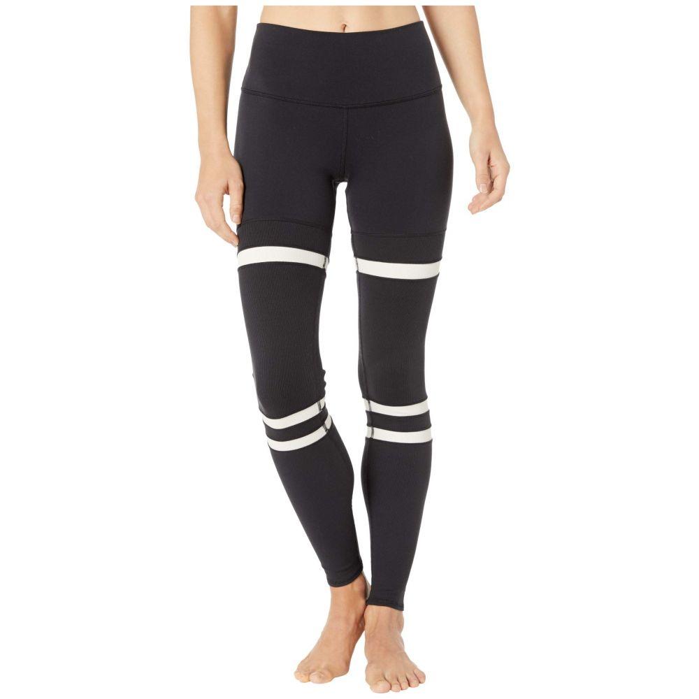 アロー ALO レディース スパッツ・レギンス インナー・下着【High-Waist Legit Leggings】Black/Bone