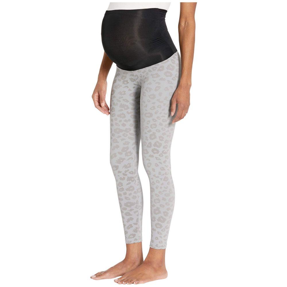 ビヨンドヨガ Beyond Yoga レディース スパッツ・レギンス マタニティウェア インナー・下着【Leopard High Waisted Maternity Legging】Gray