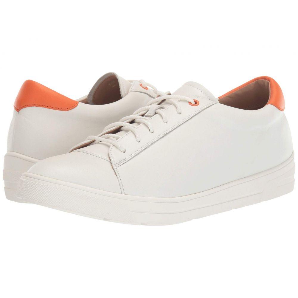 リネアパウロ LINEA Paolo レディース スニーカー シューズ・靴【Kaia】White/Orange