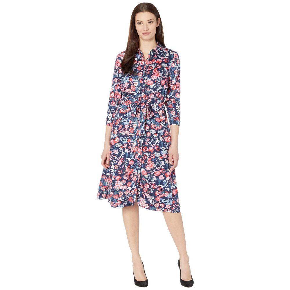 ジュールズ Joules レディース ワンピース ワンピース・ドレス【Winslet Long Sleeve】Navy Floral