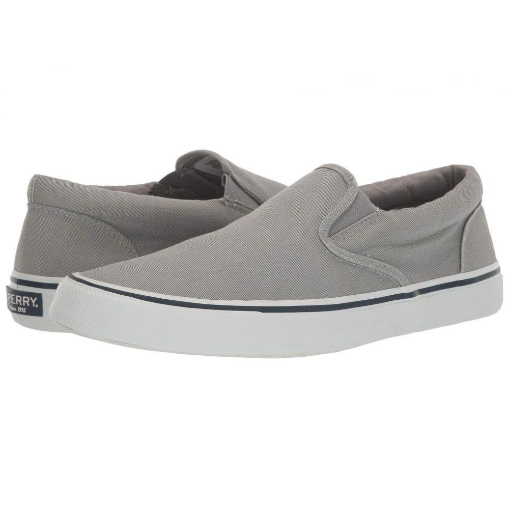 スペリー Sperry メンズ スリッポン・フラット スニーカー シューズ・靴【Striper II Slip-On Sneaker】SW Grey