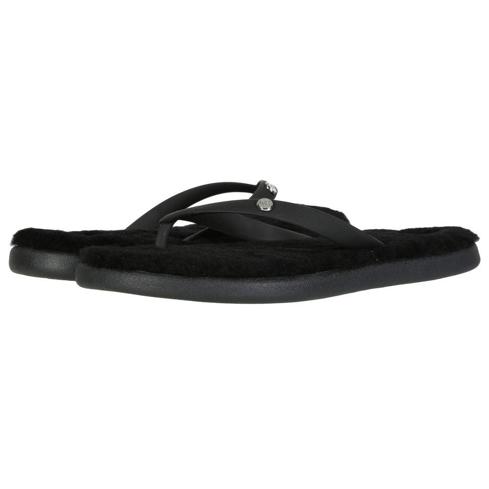アグ UGG レディース ビーチサンダル シューズ・靴【Fluffie II】Black