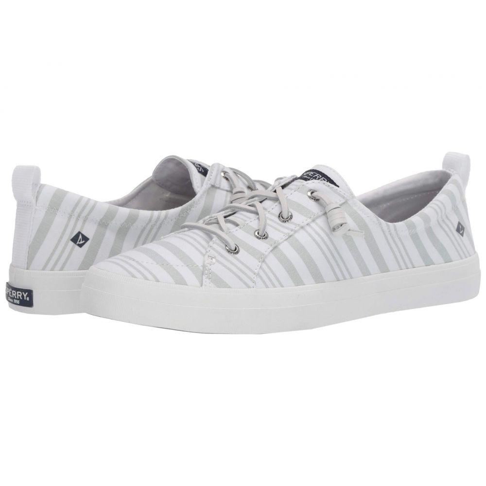 スペリー Sperry レディース スニーカー シューズ・靴【Crest Vibe Beach Stripe】Sage/White