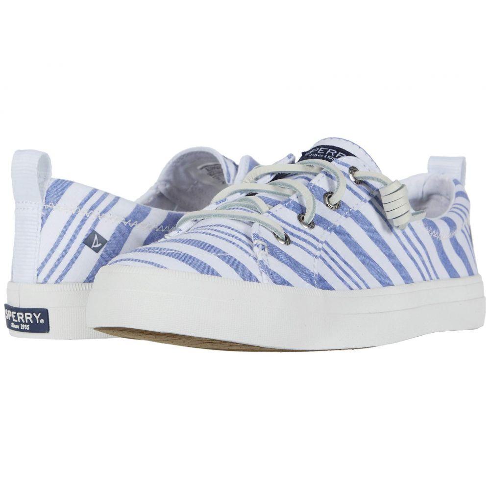 スペリー Sperry レディース スニーカー シューズ・靴【Crest Vibe Beach Stripe】Blue/White