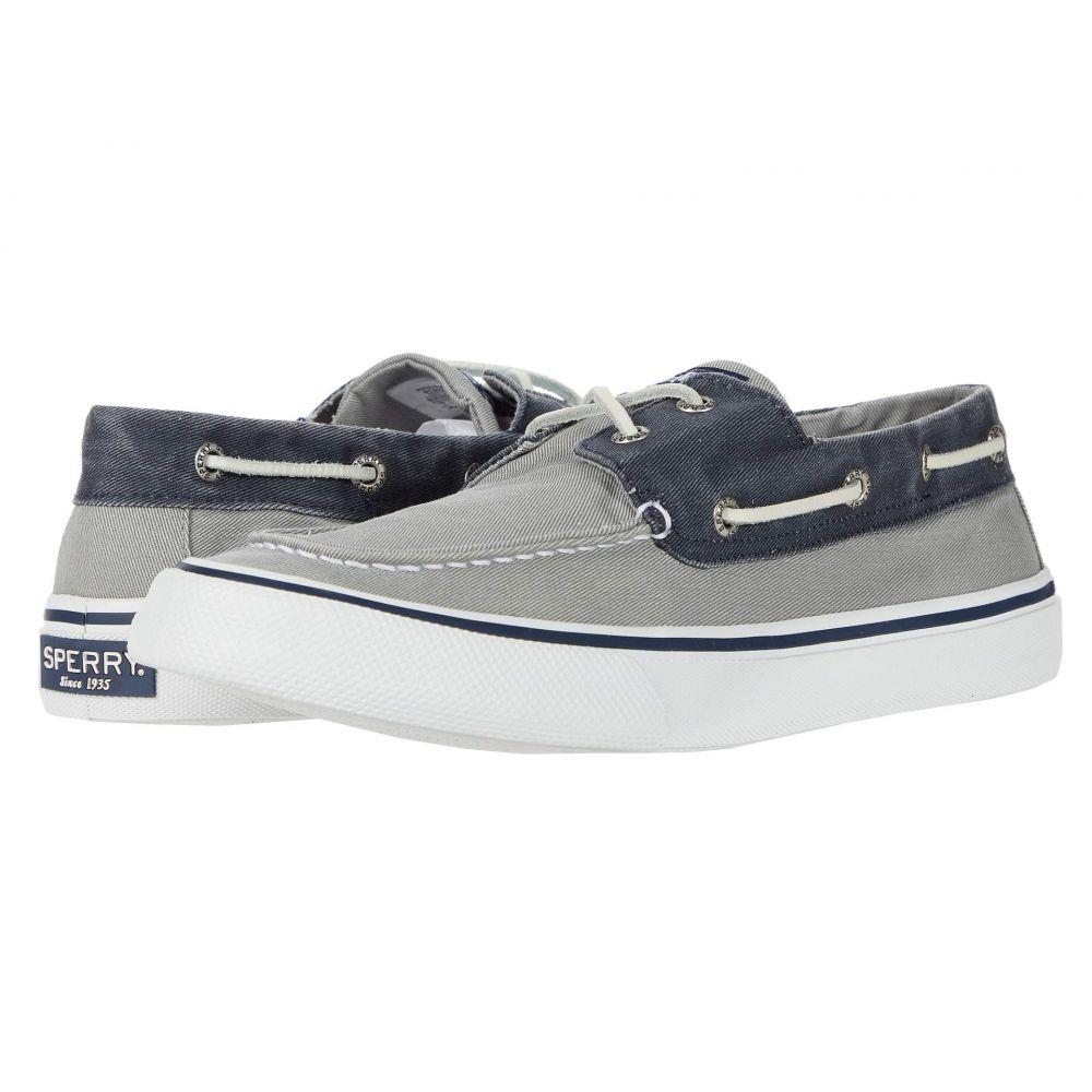 スペリー Sperry メンズ スニーカー シューズ・靴【Bahama II】SW Grey/Navy
