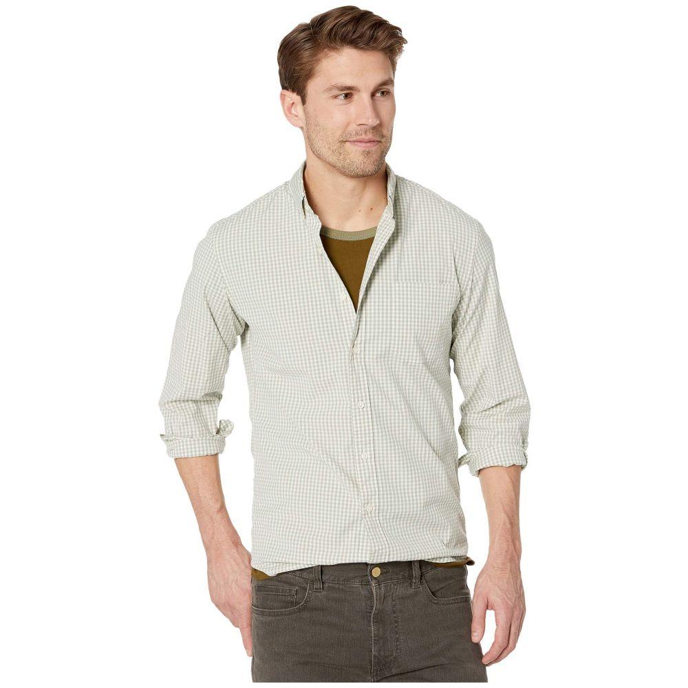 ジェイクルー J.Crew メンズ シャツ トップス【Slim Stretch Secret Wash Shirt in Organic Cotton Classic Gingham】Parker Gingham Ash