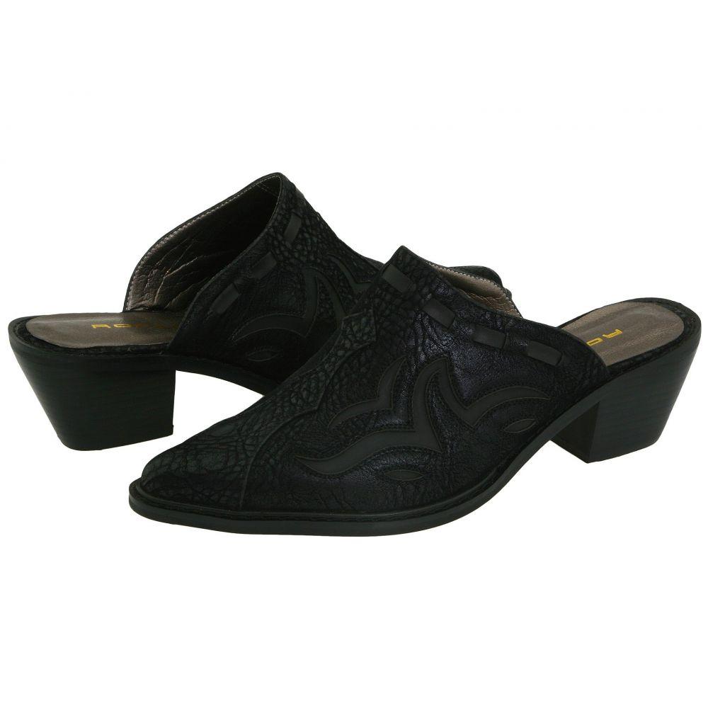 ローパー Roper レディース サンダル・ミュール シューズ・靴【Fashion Mule】Black