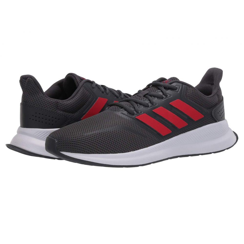 アディダス adidas メンズ ランニング・ウォーキング シューズ・靴【Runfalcon】Grey Six/Scarlet/Footwear White