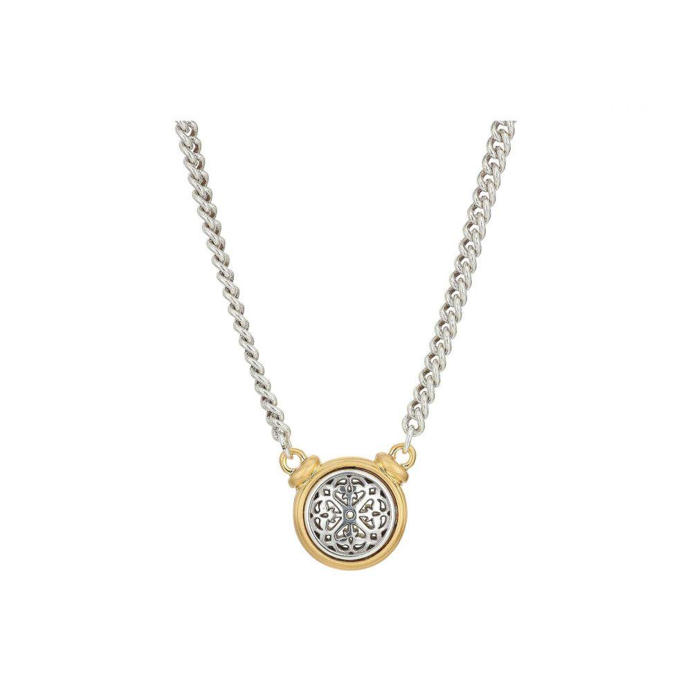 ブライトン Brighton レディース ネックレス ジュエリー・アクセサリー【Ferrara Two-Tone Short Necklace】Silver/Gold