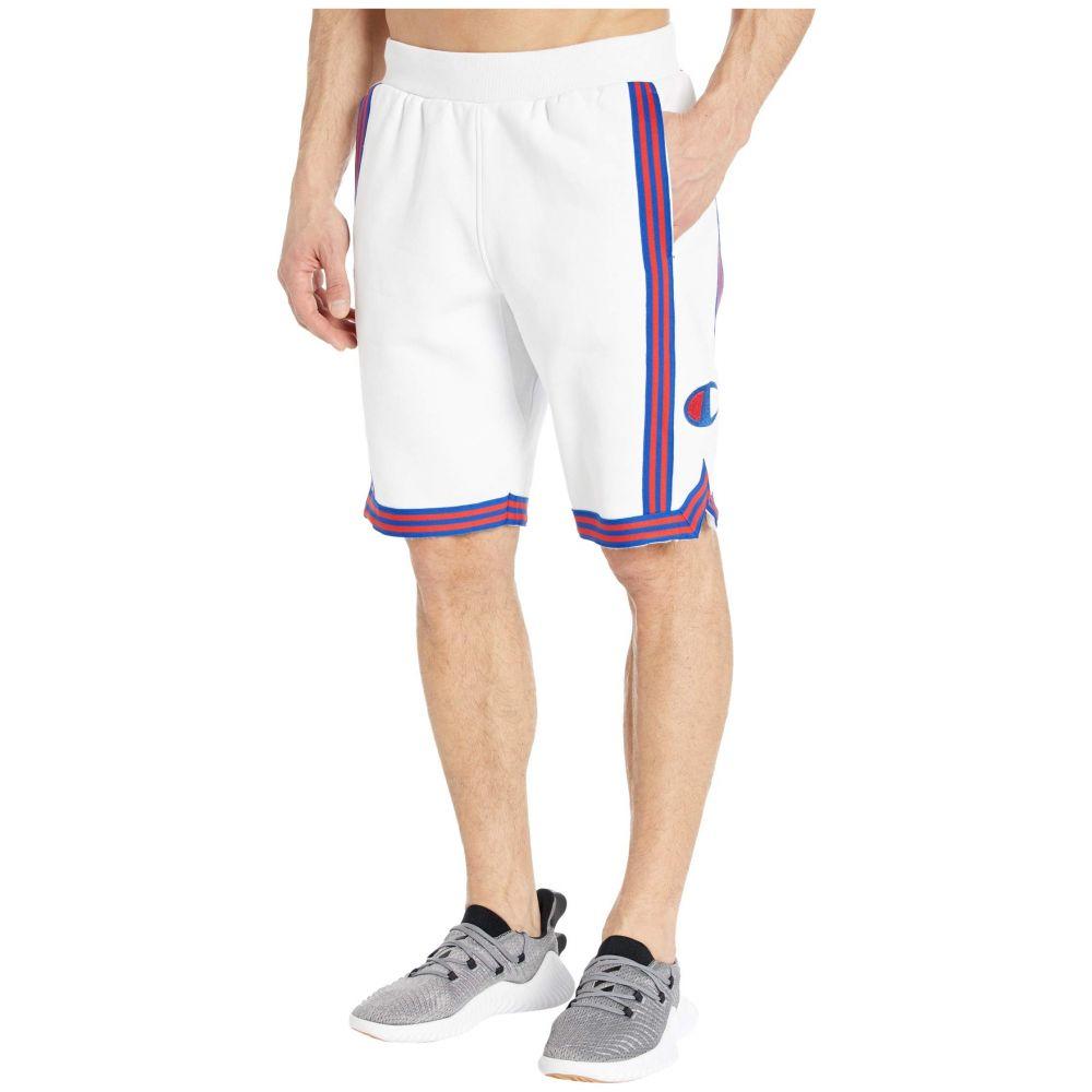 チャンピオン Champion LIFE メンズ バスケットボール ショートパンツ ボトムス・パンツ【Reverse Weave Basketball Shorts】White