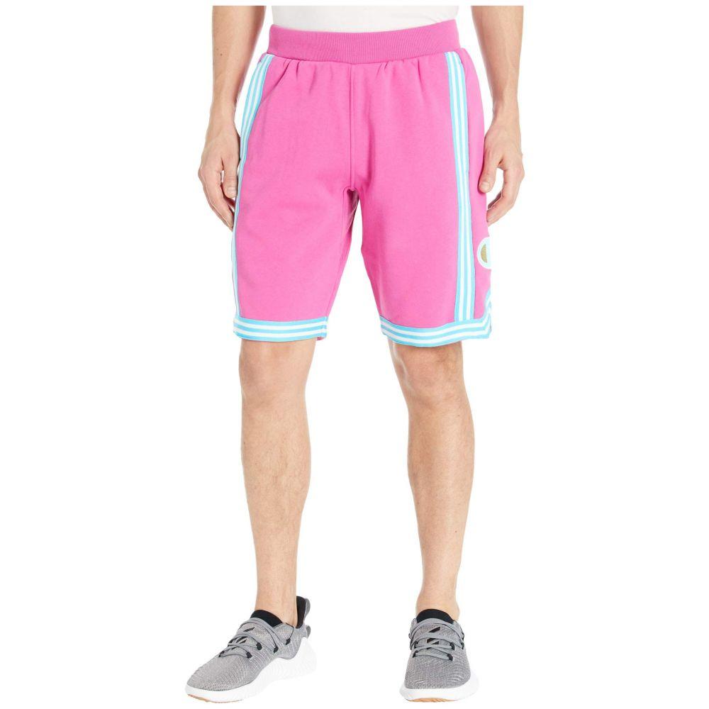 チャンピオン Champion LIFE メンズ バスケットボール ショートパンツ ボトムス・パンツ【Reverse Weave Basketball Shorts】Peony Parade Pink