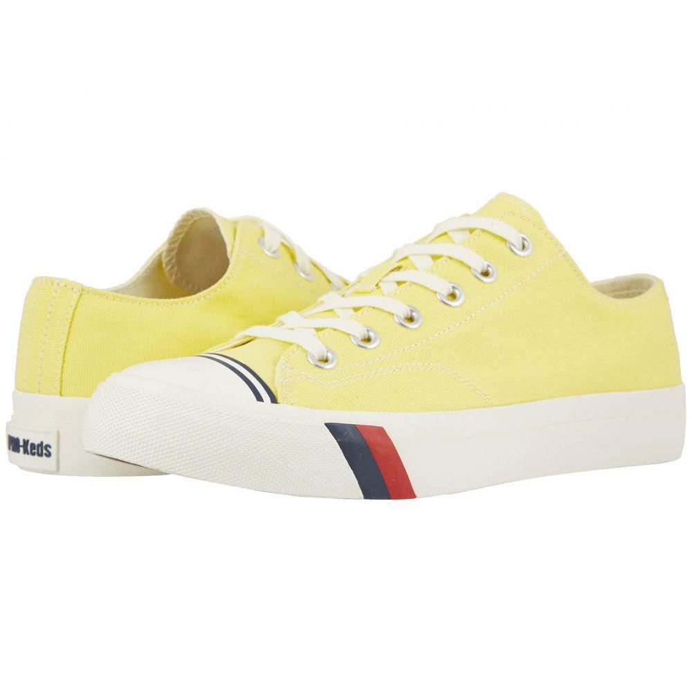 プロケッズ Pro-Keds メンズ スニーカー シューズ・靴【Royal Lo Canvas】Yellow Cream