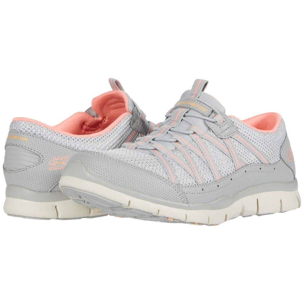 スケッチャーズ SKECHERS レディース スニーカー シューズ・靴【Gratis - My Business】Grey/Pink