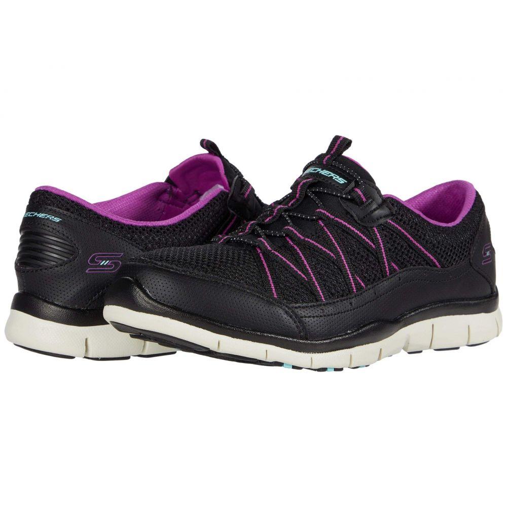 スケッチャーズ SKECHERS レディース スニーカー シューズ・靴【Gratis - My Business】Black/Purple