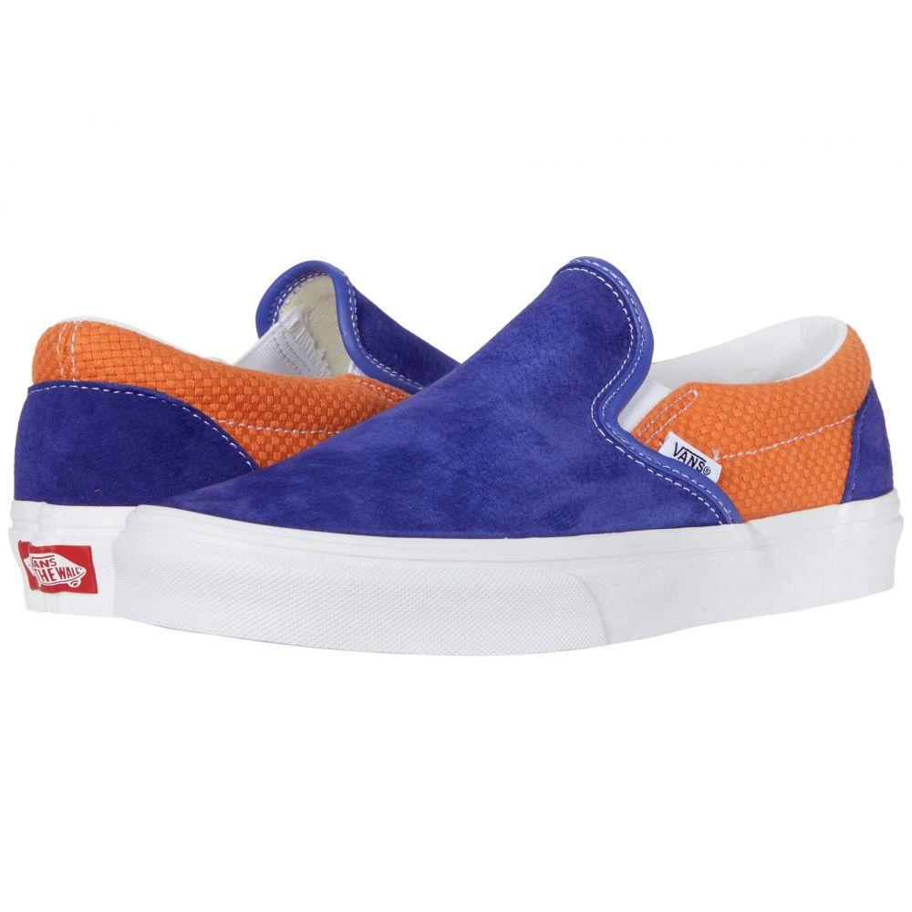 ヴァンズ Vans レディース スリッポン・フラット シューズ・靴【Classic Slip-On(TM)】Royal Blue/Apricot Bff