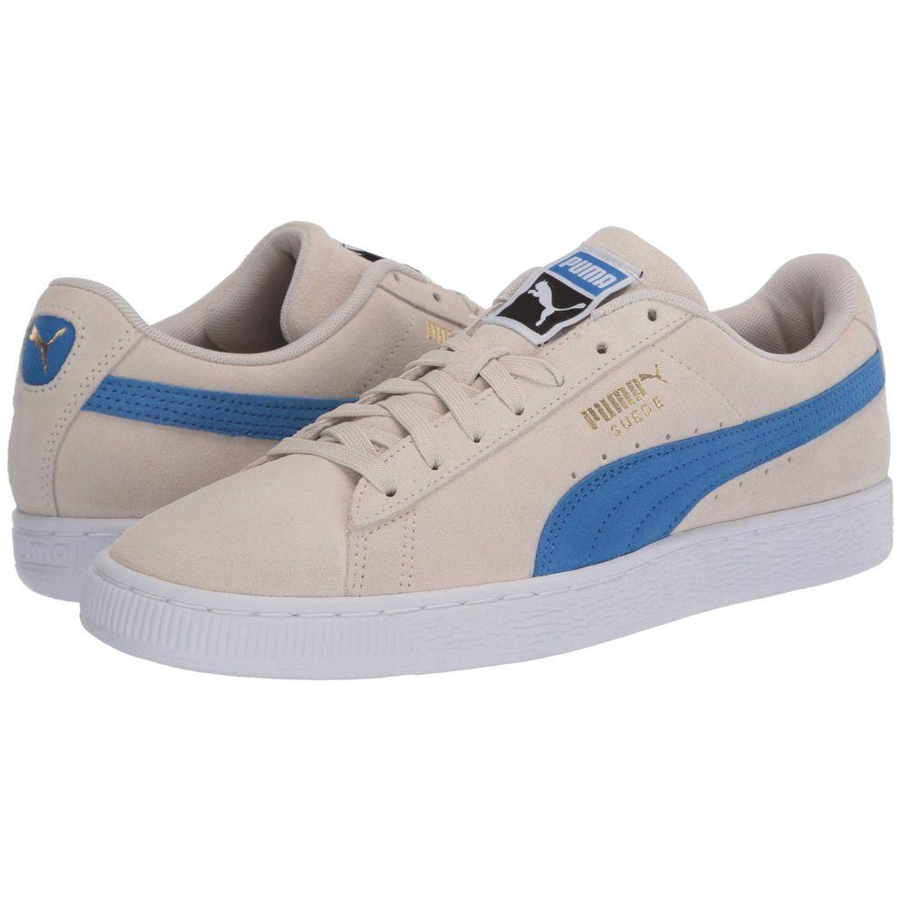 プーマ PUMA レディース スニーカー シューズ・靴【Suede Classic】Whisper White/Palace Blue/Puma Black