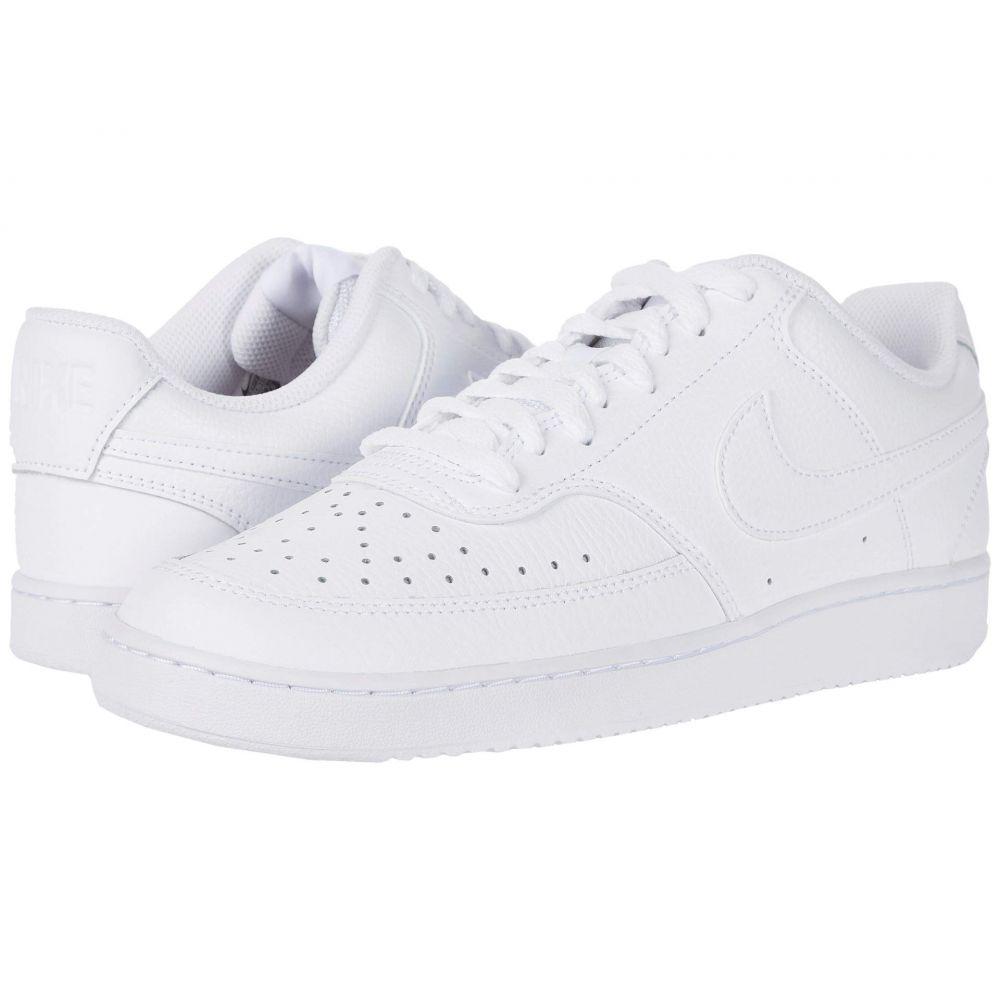 ナイキ Nike メンズ スニーカー シューズ・靴【Court Vision Lo】White/White/Black