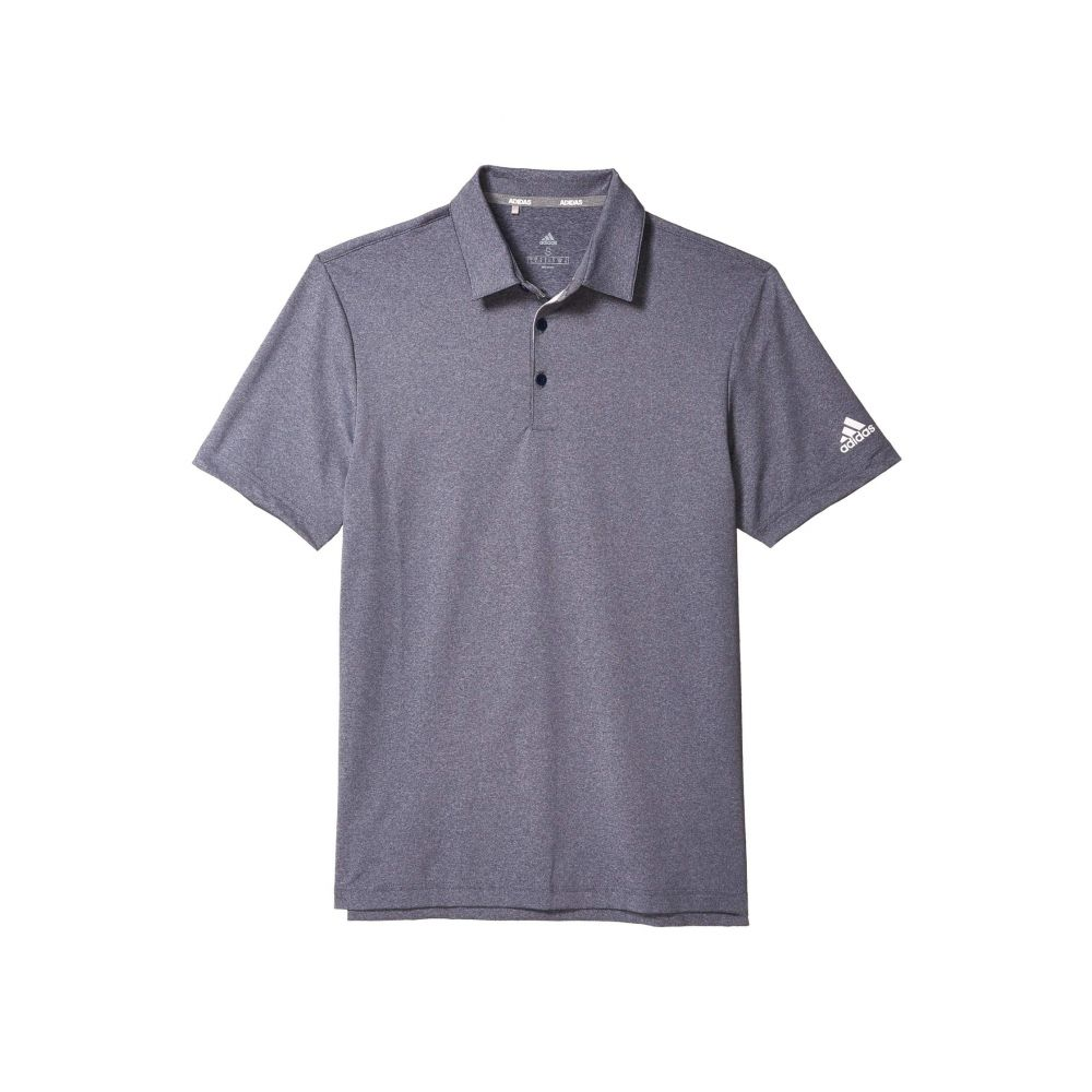 アディダス adidas Golf メンズ ポロシャツ トップス【Ultimate 2.0 Heather Polo】Collegiate Navy Melange
