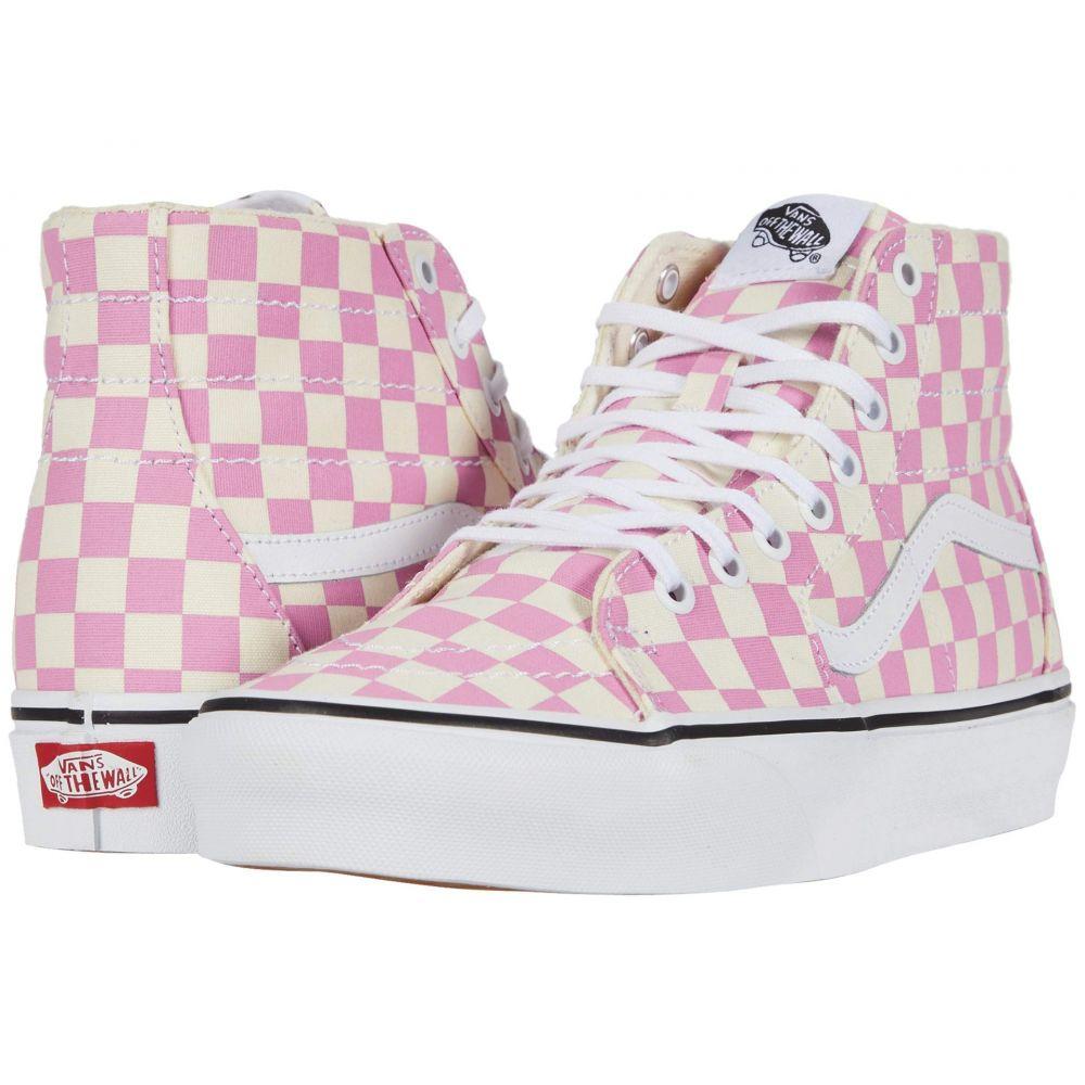 ヴァンズ Vans レディース スニーカー シューズ・靴【Sk8-Hi(TM) Tapered】Fuchsia Pink/True White