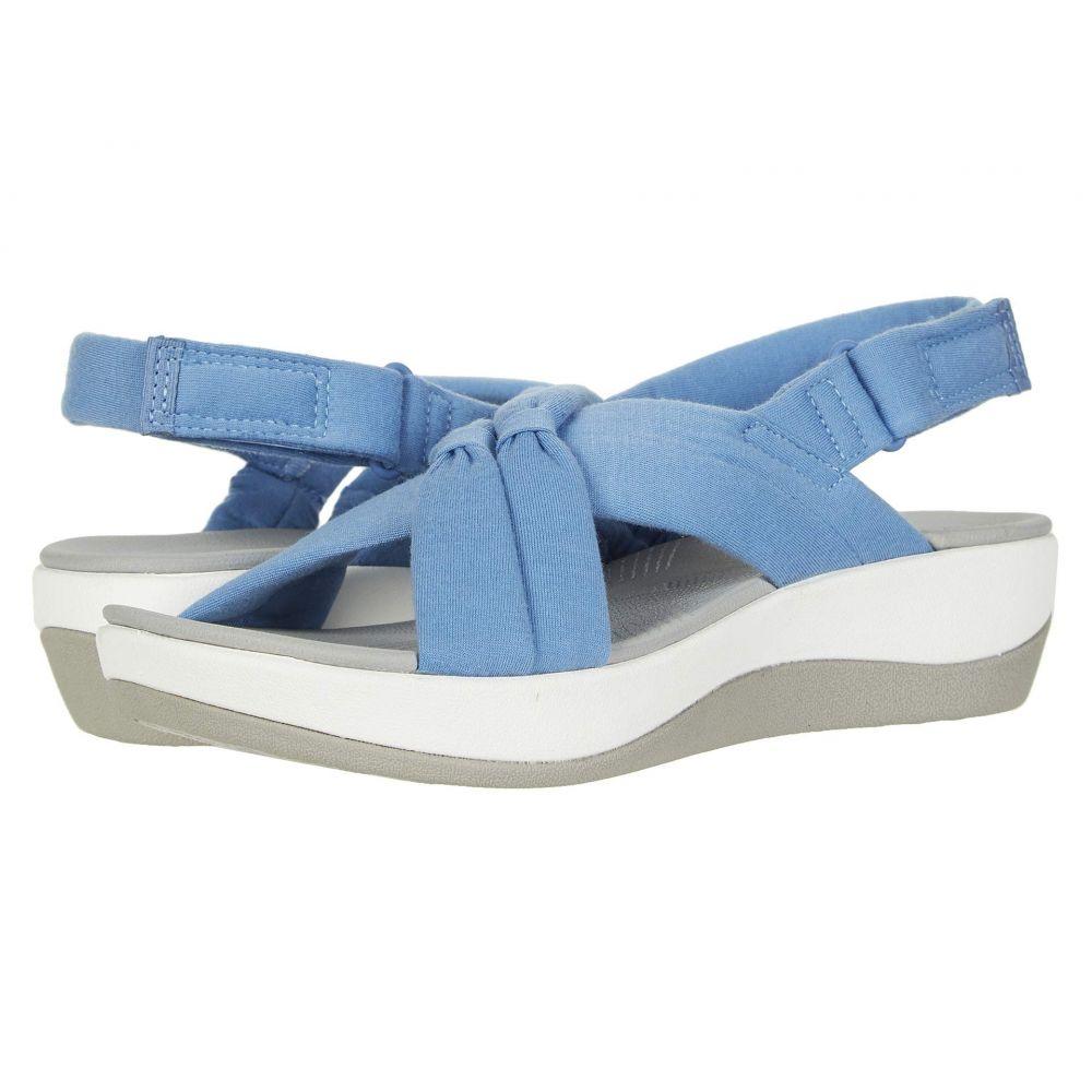 クラークス Clarks レディース サンダル・ミュール シューズ・靴【Arla Belle】Blue Textile