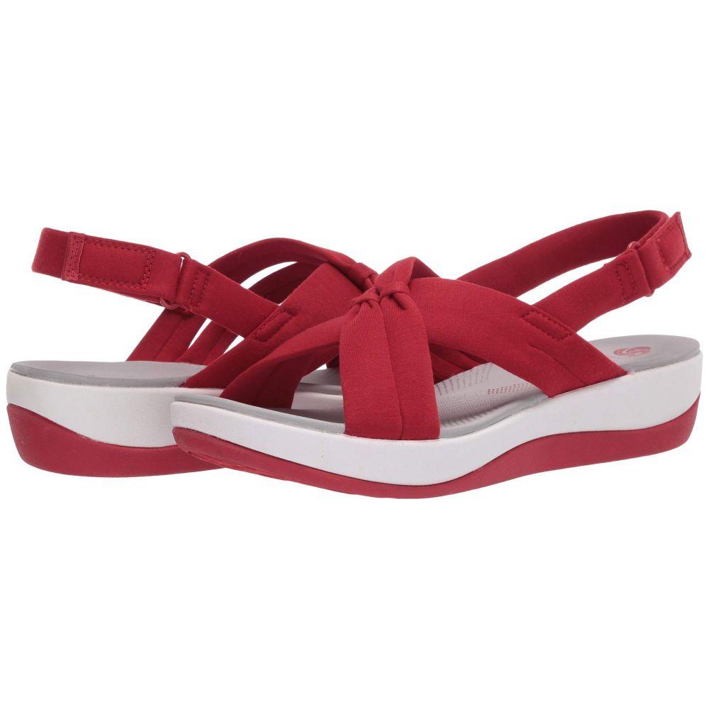 クラークス Clarks レディース サンダル・ミュール シューズ・靴【Arla Belle】Red Heathered Textile